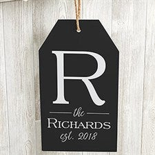 Family Name Personalized Wall Sign - 19182