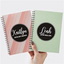 Personalized Mini Notebooks - Name & Name Meaning - 19218