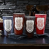 Beer Label Personalized Printed Pint Glass - 19223