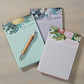 Personalized Notepads - Modern Botanical - 19230