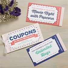 Personalized Mother's Day Coupon Book - 19233