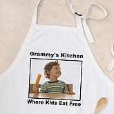 Custom Personalized Photo Aprons