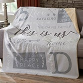 Personalized Sherpa Blankets - This Is Us - 19311