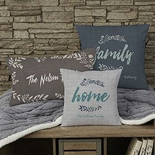 Personalized Throw Pillows - Cozy Home - 19313