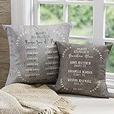 Personalized Grandma Pillow - Our Grandchildren - 19323