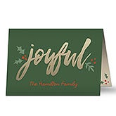 Personalized Christmas Cards - Cozy Christmas - 19340