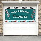 Personalized Birthday Party Banner - Birthday Boy - 19404
