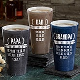 Personalized Pint Glasses - Date Established - 19410