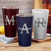 Personalized Pint Glass - Name & Initial - 19412