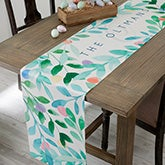 Easter Egg Personalized Table Runner - 19428