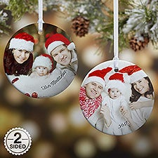 Photo Memories Premium Photo Ornament - 19443