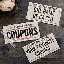 Father's Day Personalized Coupon Book - 19459
