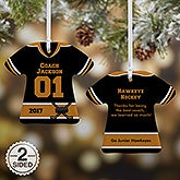 Personalized T-Shirt Ornaments - No 1 Coach - 19508