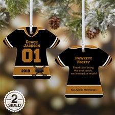 Personalized T-Shirt Ornaments - No 1 Coach - 19508