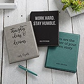 Personalized Notepad Portfolio - Office Expressions - 19512