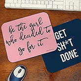 Personalized Mouse Pads - Office Expressions - 19516