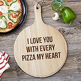 Personalized Pizza Peel 3 Piece Gift Set - 19528