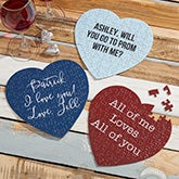 Personalized Heart Jigsaw Puzzle - Write Your Own - 19570