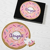 Personalized Donut Puzzle - 19573