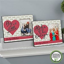 Personalized Sorority Picture Frames - Alpha Chi Omega - 19611