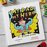 Personalized Kids Books - My Dad, My Hero - 19634D