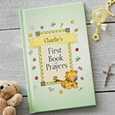 My First Book of Prayers Personalized Kids Devotional - 19635D