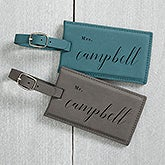 Wedded Bliss Personalized Bag Tags - 19653