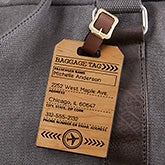 Personalized Bag Tags - Ticket To Paradise - 19655