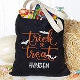 Personalized Halloween Treat Bags - Trick or Treat - 19675