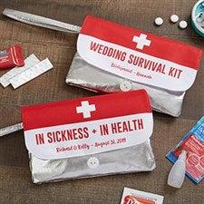 Wedding Survival Kit Personalized Wristlet - 19677
