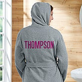 Personalized Sweatshirt Robe - Add Any Name - 19772