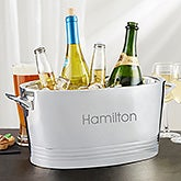 Personalized Engraved Beverage Tub - Top Shelf - 19778