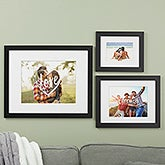 Personalized Graphic Overlay Framed Photo Prints - 19789