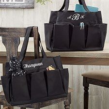 Personalized Carryall Tote Bag - Black - 19792