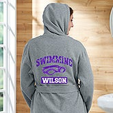 Personalized Sweatshirt Robes - Sports Designs - 19814