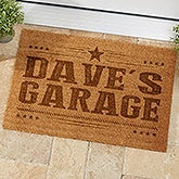 Personalized Coir Garage Doormat for Men - 19819
