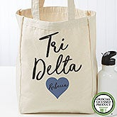 Personalized Delta Delta Delta Tote Bag - Small - 19840