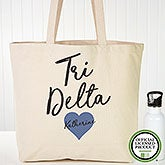 Personalized Delta Delta Delta Sorority Tote Bag - 19841
