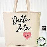 Delta Zeta Personalized Tote Bag - 19849