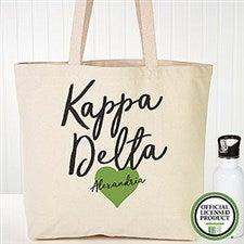 Personalized Kappa Delta Sorority Tote Bag - 19861