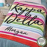 Personalized Sorority Blankets - Kappa Delta - 19862