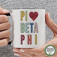 Personalized Sorority Mugs - Pi Beta Phi - 19871