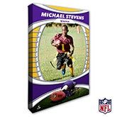 Personalized NFL Canvas Prints - Minnesota Vikings - 19915