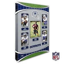 Personalized NFL Wall Art - Dallas Cowboys Art - 19935
