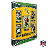 Personalized NFL Wall Art - Green Bay Packers Art - 19938