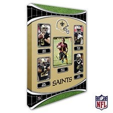 Personalized NFL Wall Art - New Orleans Saints Art - 19948