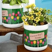 Grandma's Garden Personalized Flower Pot - 19991