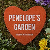 Personalized Garden Stones - Add Any Text - 19993