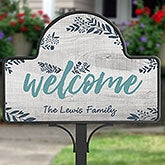 Personalized Magnetic Garden Sign - Cozy Home - 20002