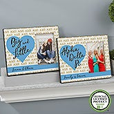 Personalized Sorority Picture Frames - Alpha Delta Pi - 20059
